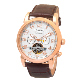 ساعت مچی مردانه تی سنتو TS50031RGW-MULTI